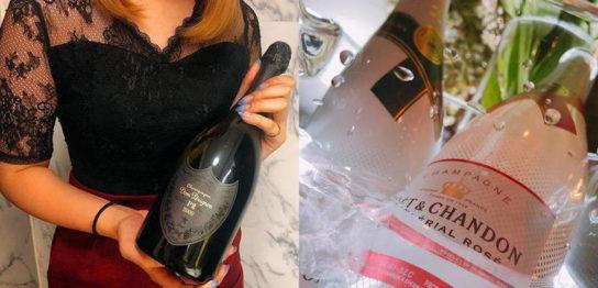 鶴岡市のクラブアッシュ20名以上在籍是非シャンパンで乾杯